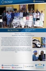 B-79 donacion hospital amatitlan