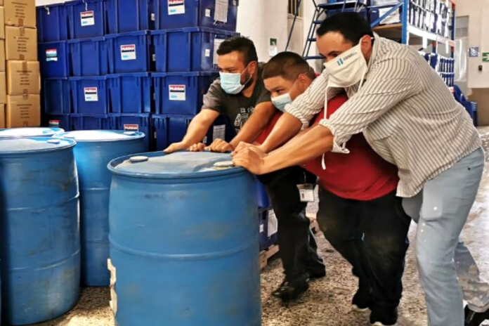 17 toneles de cloro serán distribuidos a nivel departamental.