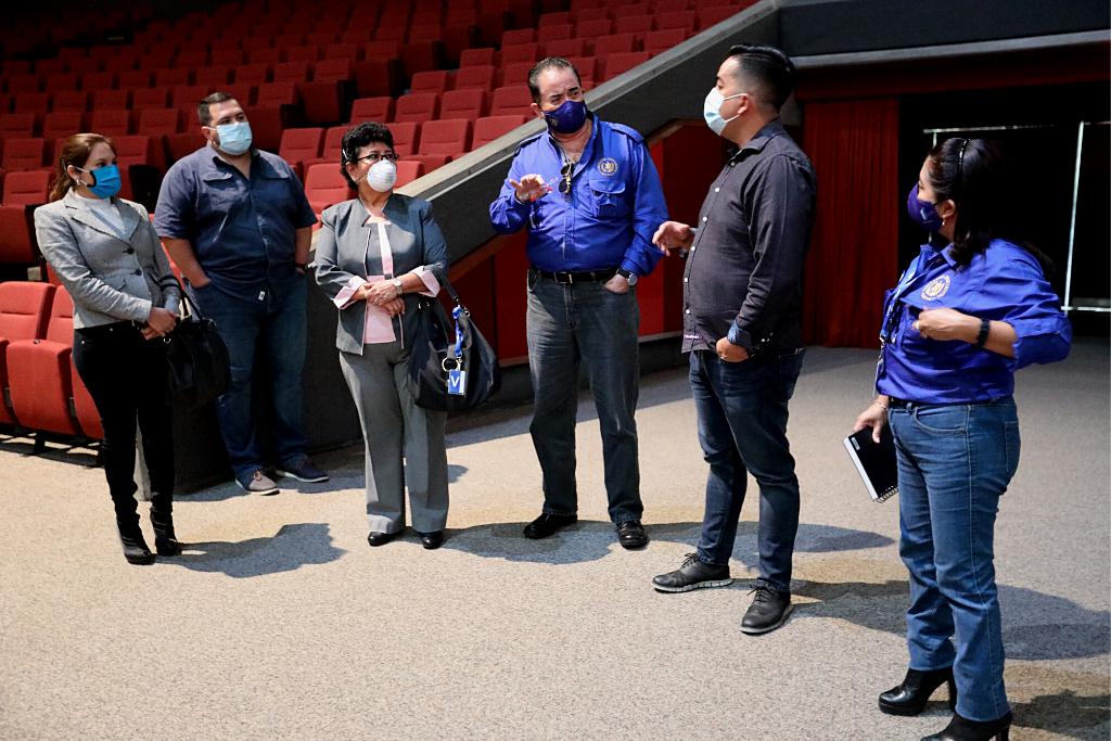 Representantes de SOSEP, Gobernación y Casa de Dios conversan sobre acciones en protección de personas en situación de calle.