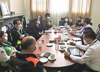Secretaria y Subsecretaria de SOSEP se reunieron con autoridades de la Municipalidad, Gobernación y SE-Conred para buscar espacios para albergues.