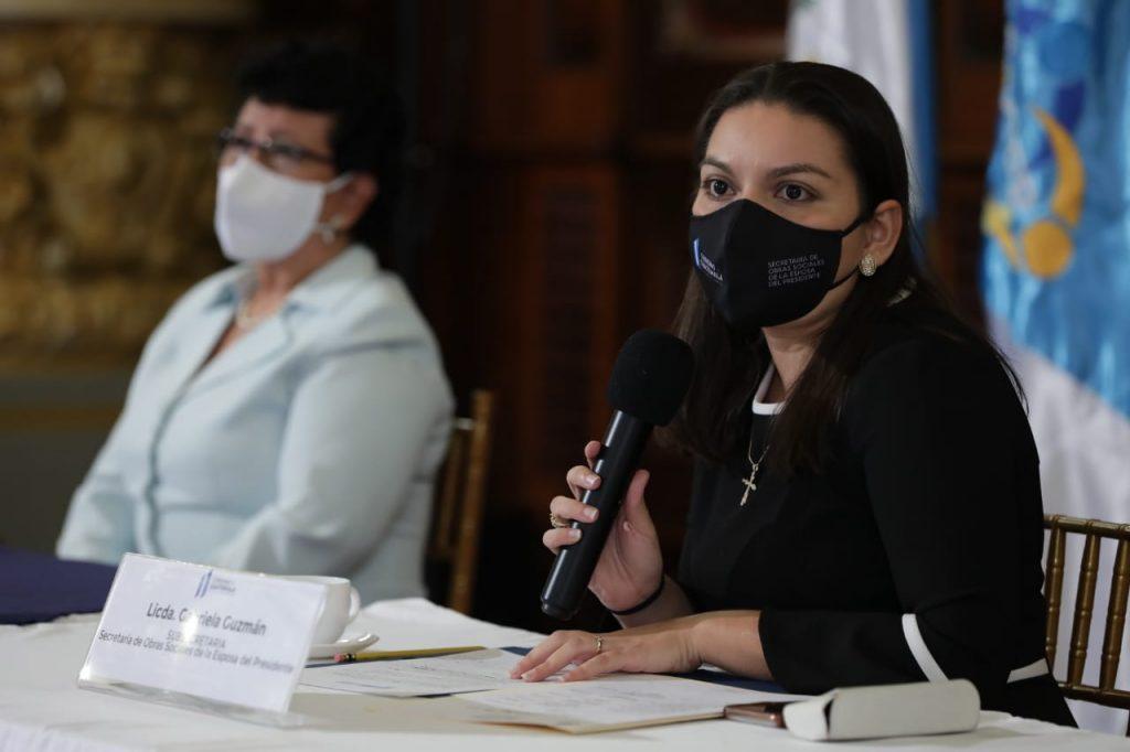 Gabriela Guzmán, subsecretaria de SOSEP.