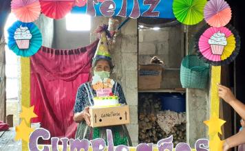 Mis Años Dorados de Pueblo Nuevo, Suchitepéquez, celebró los cumpleaños de los adultos mayores