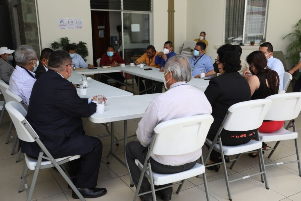 Los alcaldes solicitaron una reunión en las instalaciones de SOSEP.