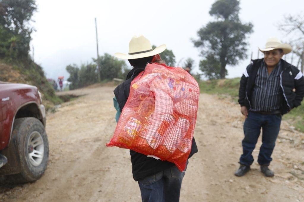Los nuevos beneficiarios de Mis Años Dorados fueron priorizados con la entrega de alimentos por las condiciones en las que viven.